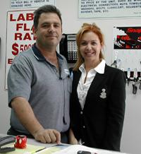 Carlos and Denise Nunez, Japan Car Care Company.