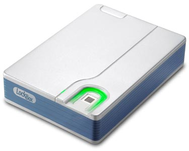 Microsolution's LockBox Fingerprint Access Hard Drive