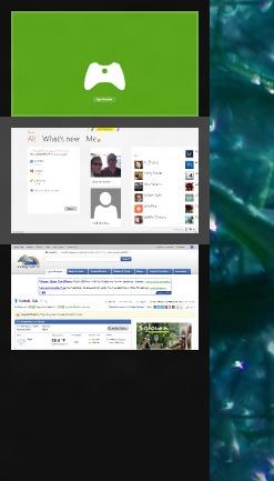 The Windows 8 Metro Task panel