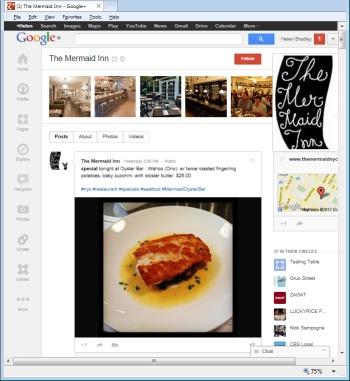 Google Plus social media network