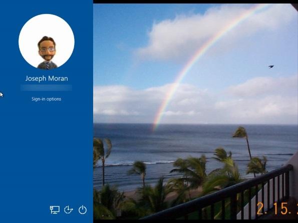 Windows 10: Picture password login alternative