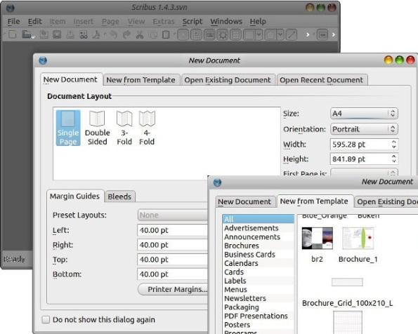 Scribus: open source desktop publishing software