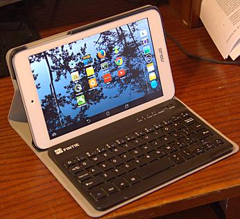 ASUS Memopad with Fintie keyboard