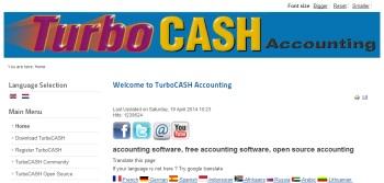 TurboCASH 5 free accounting software