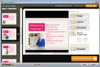 Visualbee Powerpoint design tool