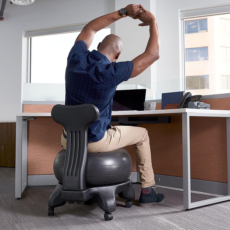 yoga ball chair